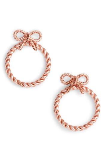 Women's Olivia Burton Bow Hoop Earrings