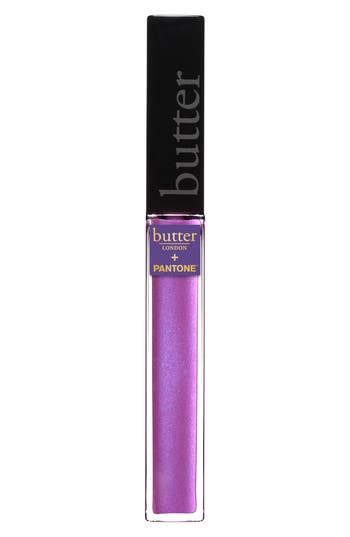 Butter London + Pantone(TM) Color Of The Year 2018 Plush Rush Lip Gloss - Electric