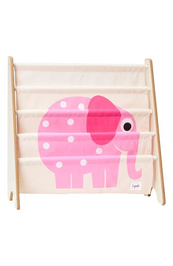 3 sprouts female 3 sprouts elephant book rack size one size pink