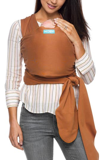 Infant Moby Wrap Baby Carrier Size One Size  Brown
