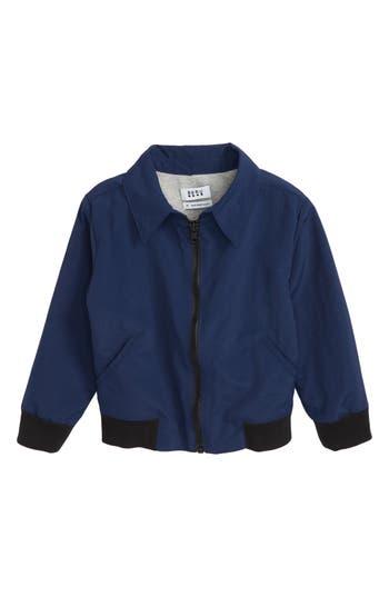 Boys Beru Riles Jacket Size 67  Blue