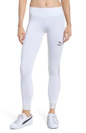 Puma T7 Leggings, White