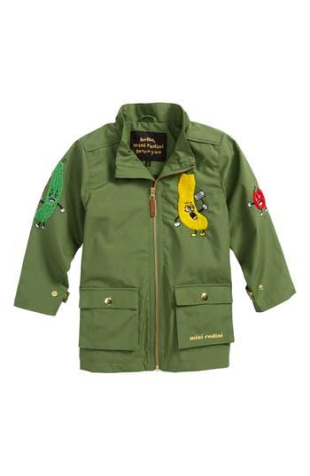 Boys Mini Rodini Veggie Patch Jacket