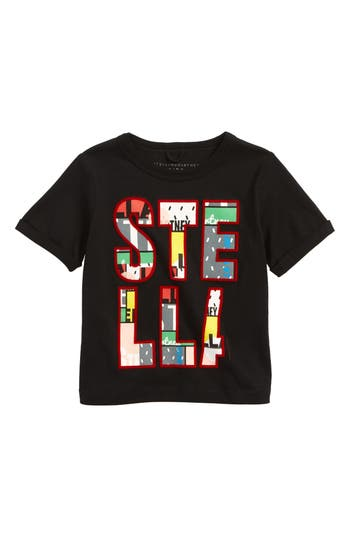 Girls Stella Mccartney Lolly Graphic Tee Size 4Y  White
