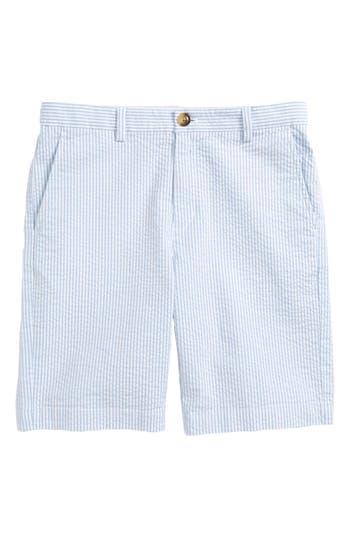 Boys Vineyard Vines Seersucker Stripe Breaker Shorts