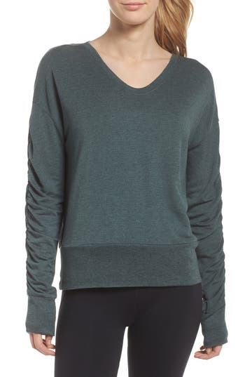 Zella Pop On Sweatshirt, Green
