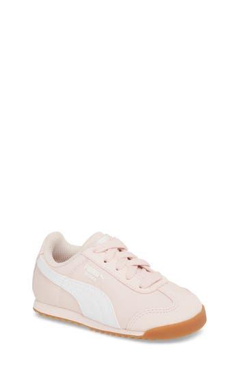 Toddler Girls Puma Roma Basic Summer Sneaker Size 8 M  White