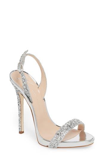 Giuseppe Zanotti Glitter Slingback Sandal