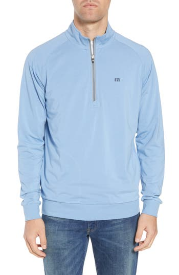Travis Mathew 'Strange Love' Trim Fit Wrinkle Resistant Quarter Zip Jacket