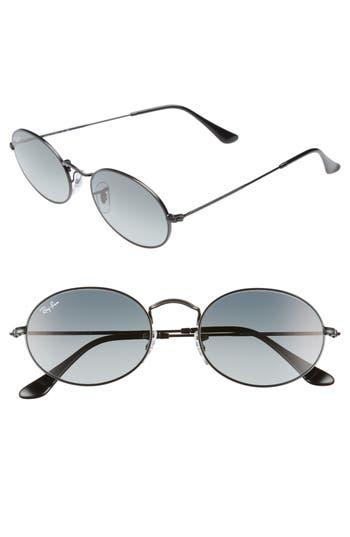 Ray-Ban 5m Oval Sunglasses - Black