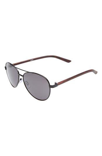 Boys Starlight Accessories Aviator Sunglasses  Black Wood