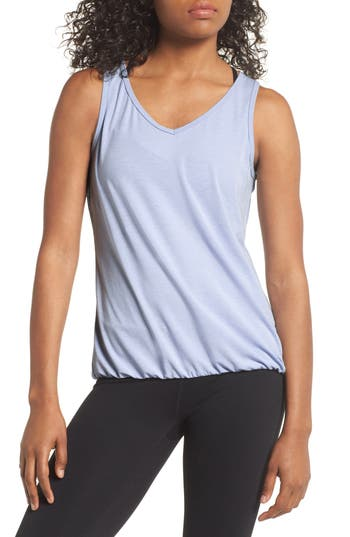 Zella Cross Court Tank, Blue
