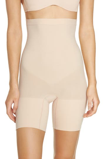 SPANX® Higher Power Mid-Thigh Shaping Shorts