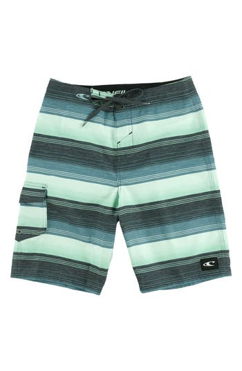 Boys ONeill Santa Cruz Stripe Board Shorts