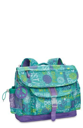 Girls Bixbee Hope Peace Love Backpack