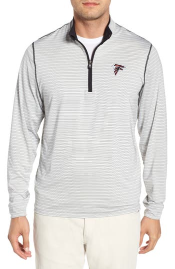 Cutter & Buck Meridian - Atlanta Falcons Regular Fit Half Zip Pullover