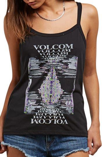 Volcom Into Tomorrow Graphic Tank, Black