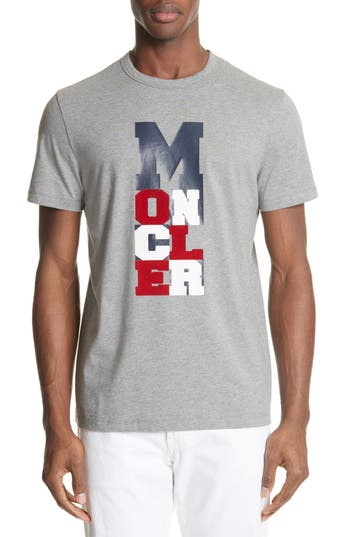 Moncler Maglia Vertical Logo T-Shirt