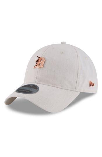 New Era Cap MLB Badged Black Label Linen & Cotton Ball Cap