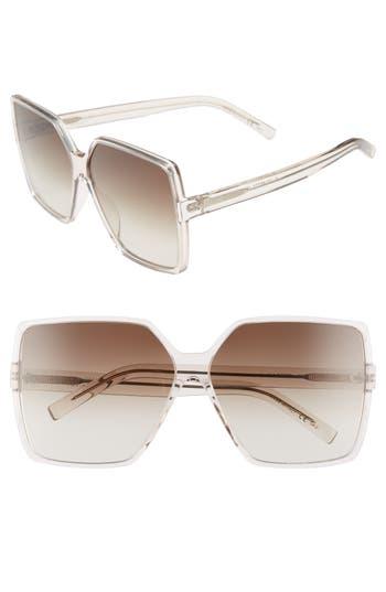 Saint Laurent Betty 6m Sunglasses - Nude