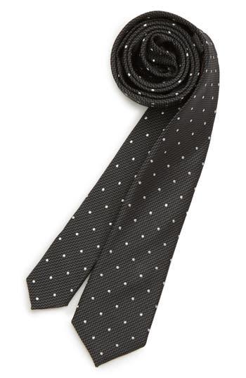 Boys Michael Kors Dot Silk Tie Size One Size Big Boy  Black