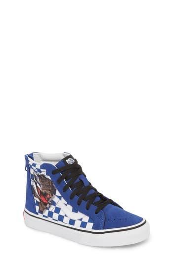 Boys Vans Sk8Hi Sneaker Size 4 M  Blue