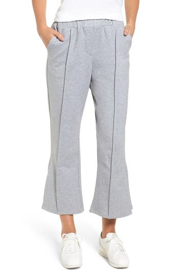 Crop Flare Sweatpants