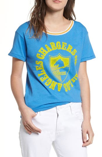 JUNK FOOD NFL CHARGERS KICK OFF TEE