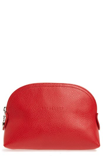 Longchamp 'Veau' Cosmetics Case