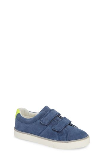 Boys Boden Suede Low Top Sneakers