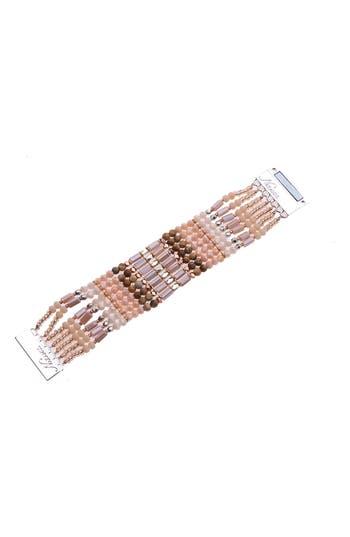Nakamol Design Stone & Crystal Wrap Bracelet