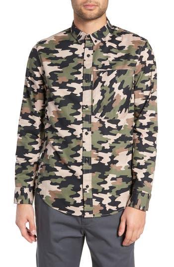The Rail Camo Flannel Shirt