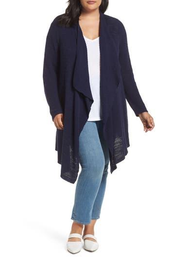 Caslon® Drape Front Long Cardigan