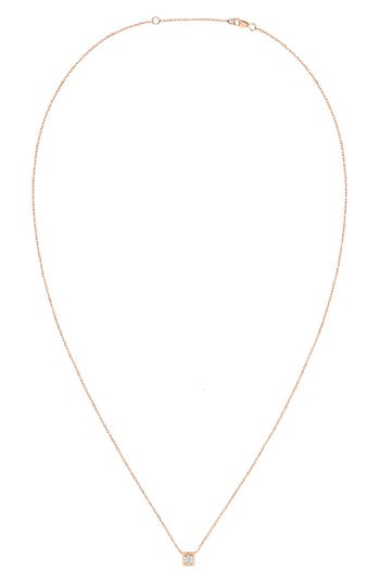 Dinh Van Le Cube Diamant 18K Gold Necklace