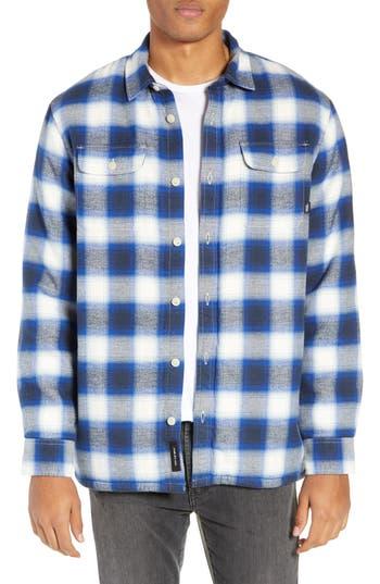 Vans Loomis Plaid Fleece Lined Shirt Jacket