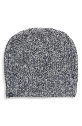 Barefoot Dreams® Circle Heathered Ribbed Beanie
