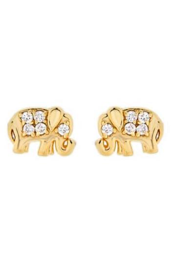 Mini Mini Jewels Diamond Icon Elephant Earring