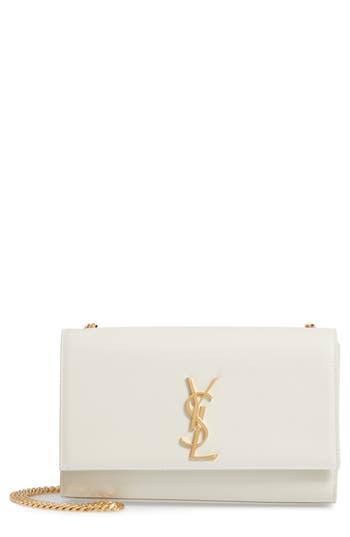 Saint Laurent 'Medium Kate' Leather Chain Shoulder Bag