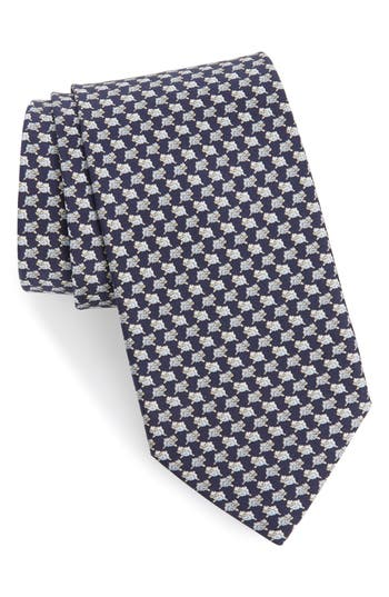 Salvatore Ferragamo Gloria Print Silk Tie