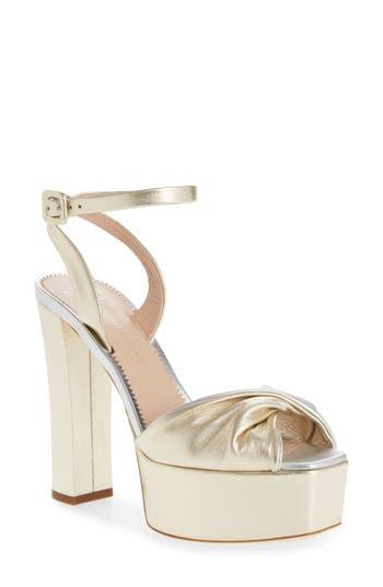 Giuseppe Zanotti Ankle Strap Platform Sandal