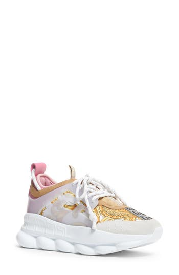 Versace First Line Chain Reaction Platform Sneaker