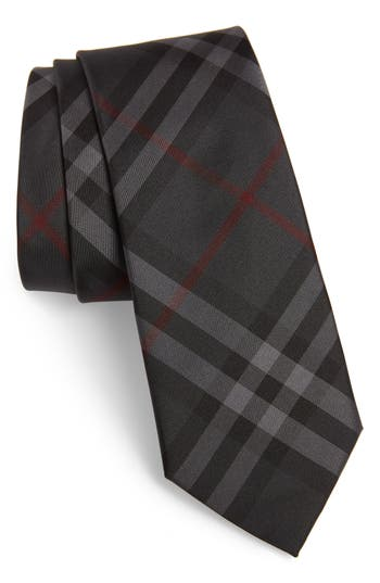 Burberry Manston Check Silk Tie