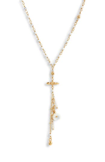 Chan Luu Charm Short Necklace