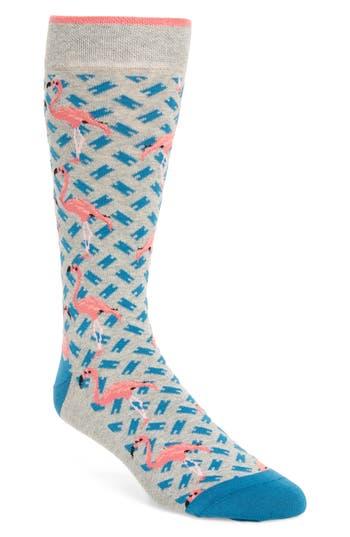 Ted Baker London Flamingo Print Socks