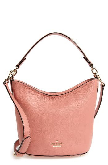 kate spade new york jackson street - small rubie leather crossbody bag