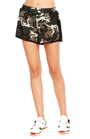 The Upside Camo Running Shorts