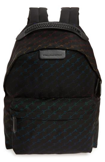 Stella McCartney Logo Eco Nylon Backpack