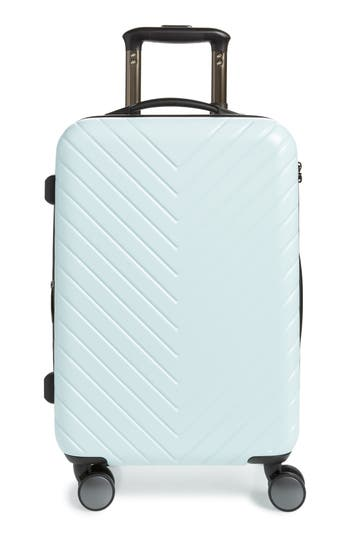 Nordstrom Chevron 18-Inch Spinner Carry-On