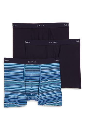 Paul Smith Assorted 3-Pack Long Leg Trunks
