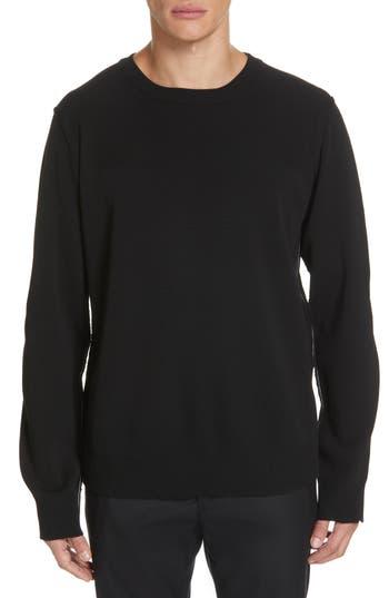 Juun.J Contrast Stitch Wool Blend Sweater